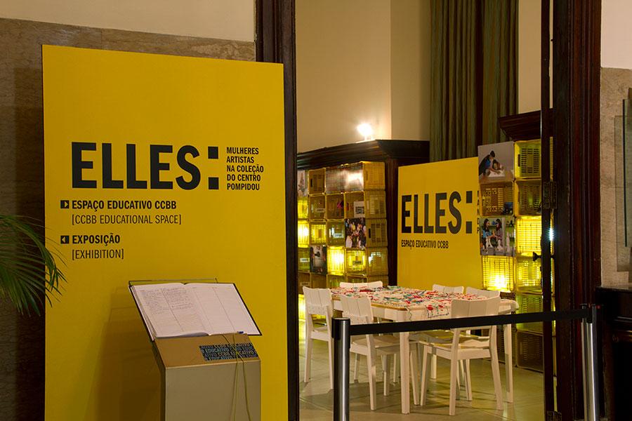 Elles: mulheres artistas na coleção do Centro Pompidou