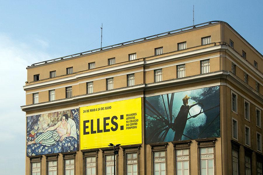 """""""Elles: mulheres artistas na coleção do Centro Pompidou"""""""