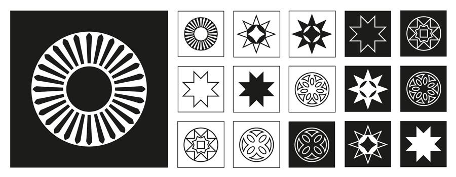 Cais do Sertão - Rosetas e estrelas