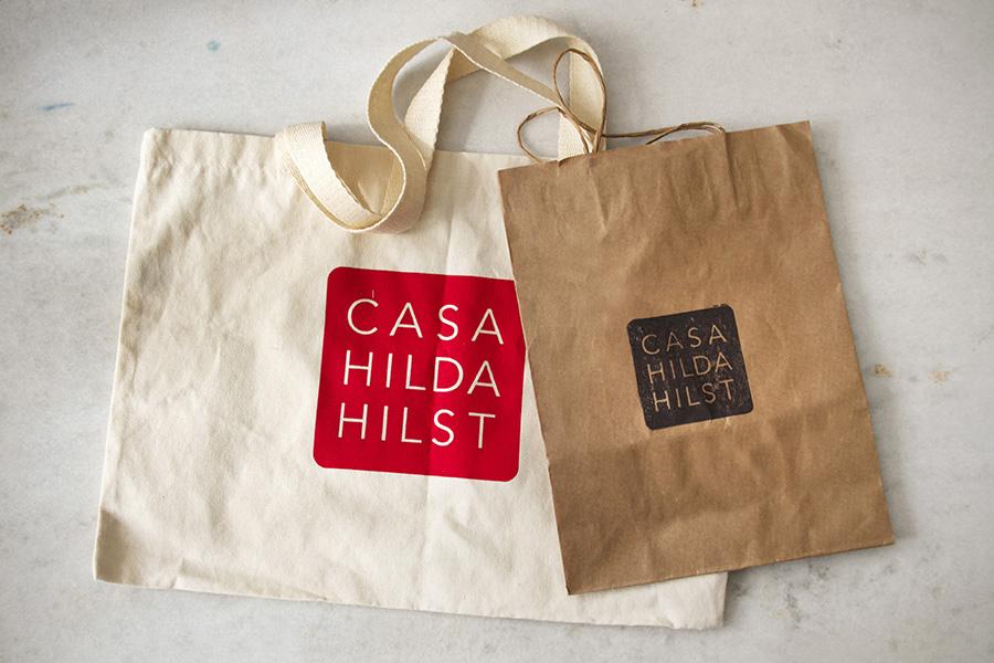 Casa Hilda Hilst, aplicação da identidade. Foto: Marcelo Pereira